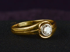 1940s 0.40ct Diamond Ring