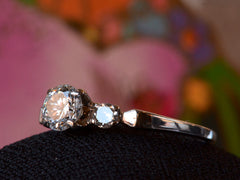 1940-50s 0.42ct Diamond Ring