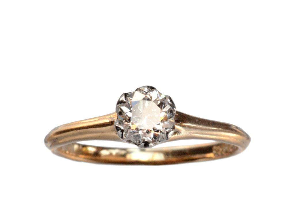 1900s Edwardian 0.42ct Diamond Engagement Ring
