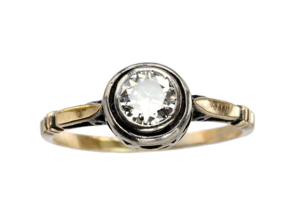 1920s Art Deco 0.45ct Diamond Ring