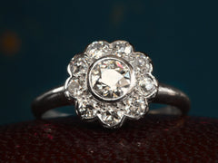 1910s Diamond Cluster/ Daisy Ring