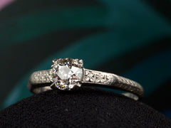 1920s Art Deco 0.46ct Ring