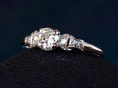 1930s Deco 0.47ct Ring