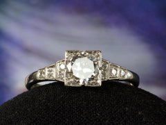 1930s Art Deco 0.49ct Ring