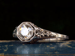 1920s 0.50ct Filigree Ring