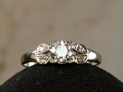 1930s Deco 0.51ct Ring