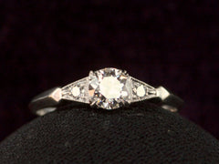 1930s 0.51ct Deco Ring