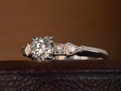 1930s Art Deco 0.55ct Diamond Engagement Ring