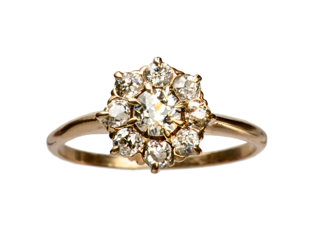 1890s Victorian Cluster Ring