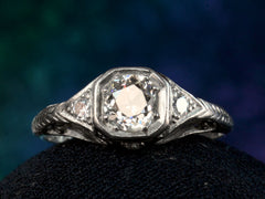 1920s Art Deco 0.57ct Ring
