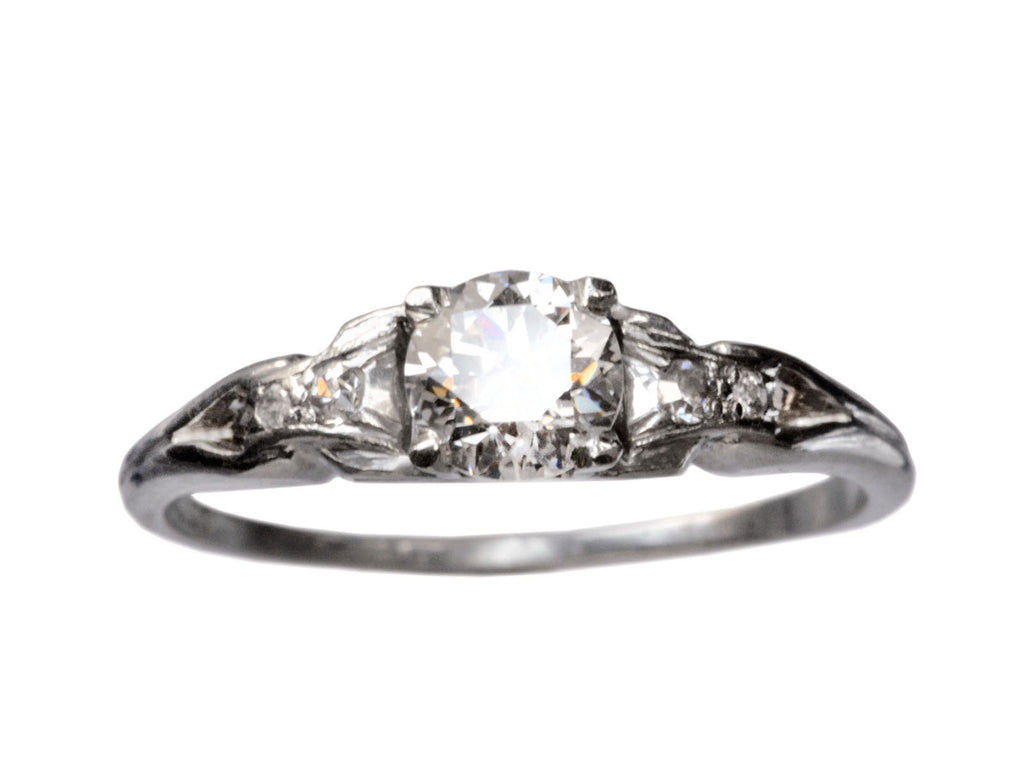 1930s 0.58ct Diamond Ring