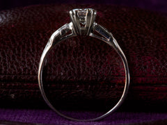 1930s Deco 0.59ct Diamond Ring