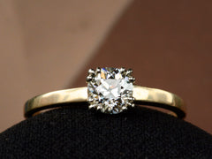 1940s 0.60ct Solitaire Ring