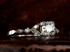 1930s 0.60ct Diamond Ring