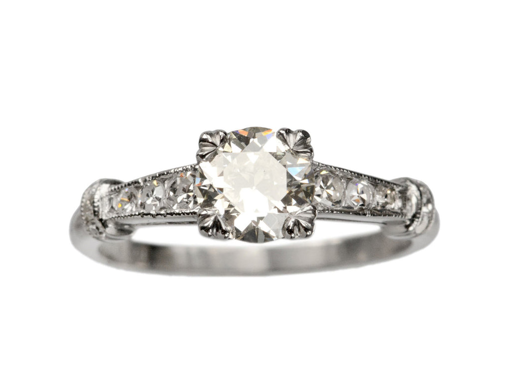 1920s Art Deco 0.60ct Diamond Engagement Ring