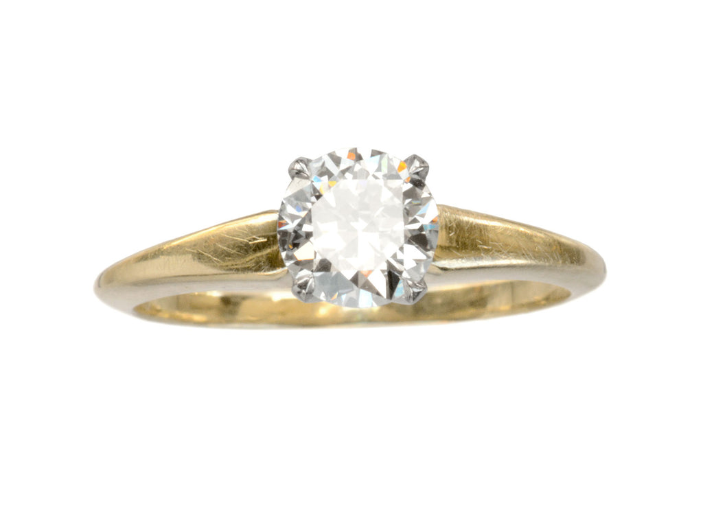 1940s JE Caldwell 0.61ct Ring