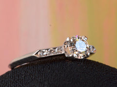 1930s Art Deco 0.62ct Ring