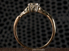 1930s Deco 0.66ct Diamond Ring
