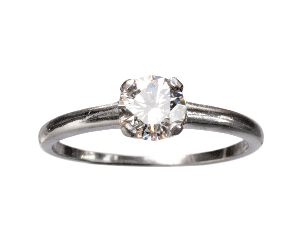 1940s 0.66ct Diamond Solitaire
