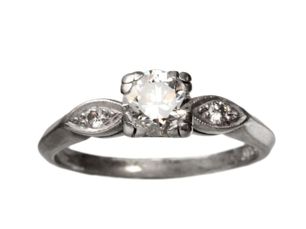 1930s 0.66ct Diamond Ring
