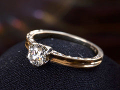 1940s 0.67ct Diamond Ring