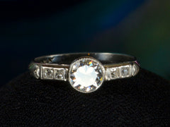 1920s Art Deco 0.69ct Ring