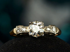 1930s Deco 0.71ct Ring