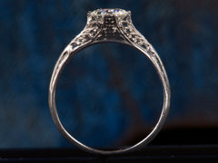 1920s J.E. Caldwell 0.73ct Diamond Engagement Ring