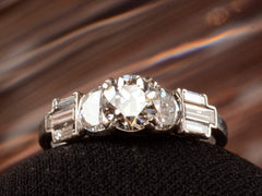 1930s Art Deco 0.75ct Ring