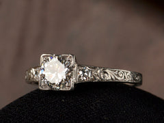 1920s Art Deco 0.76ct Engagement Ring