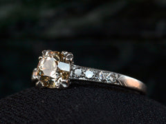 1930s Brown Diamond Ring