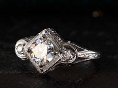 1920s Deco 0.80ct Ring