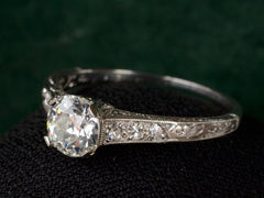 1920s Art Deco 0.80ct Ring