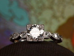 1930s Art Deco 0.80ct Ring