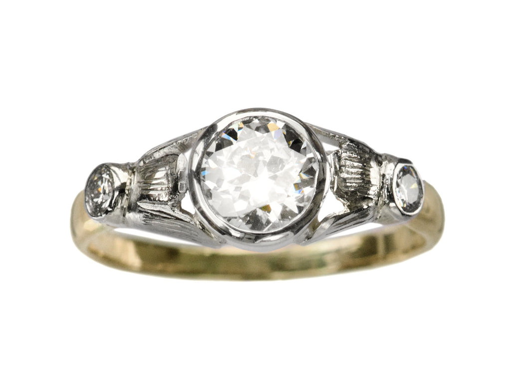 c1930 Art Deco 0.81ct Ring