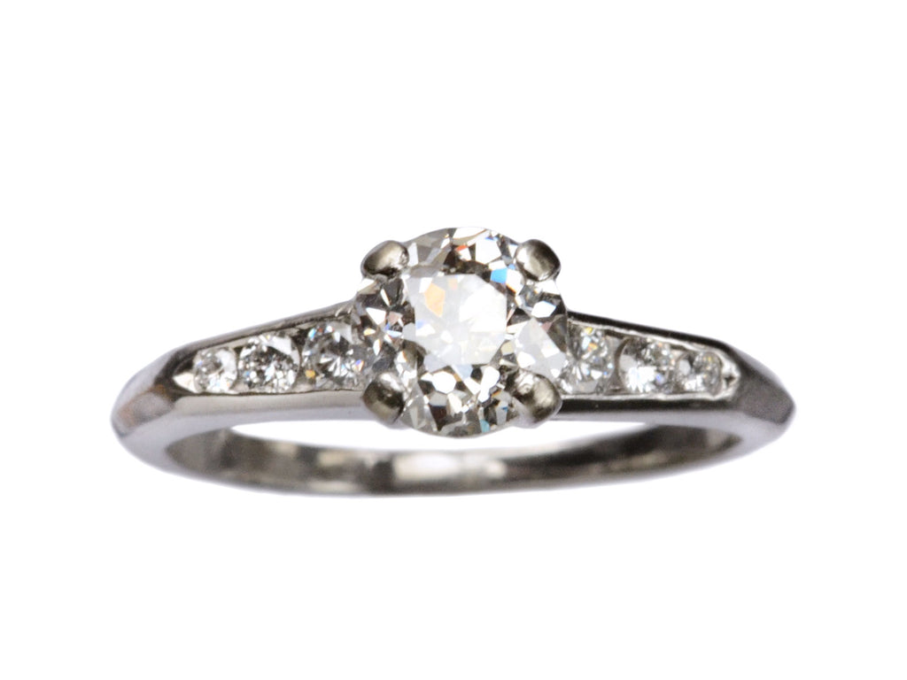 1940s 0.82ct Diamond Ring
