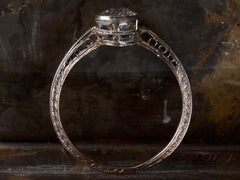 1920s Deco 0.82ct Diamond Ring