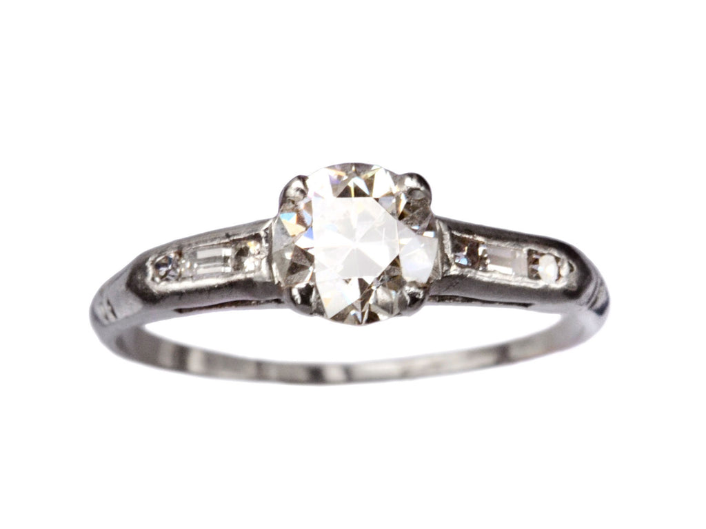 1930s 0.83ct Diamond Ring