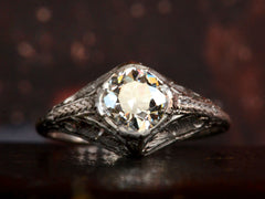 1910s 1.00ct Diamond Ring