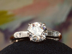 1930s Art Deco 1.01ct Engagement Ring
