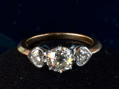 EB 1.17ct Old Mine Cut Ring