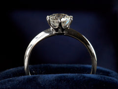 Vintage Tiffany & Co 1.17ct Diamond Engagement Ring