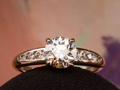 1940s Jabel 1.18ct Ring