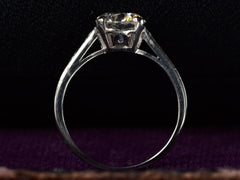 1930s Art Deco Tiffany & Co 1.31ct Diamond Engagement Ring