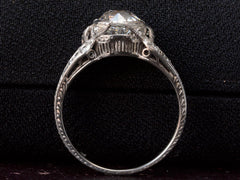 1910s Art Deco 1.32ct Engagement Ring