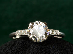 1940s 1.34ct Diamond Engagement Ring