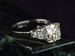1930s Deco 1.40ct Diamond Ring