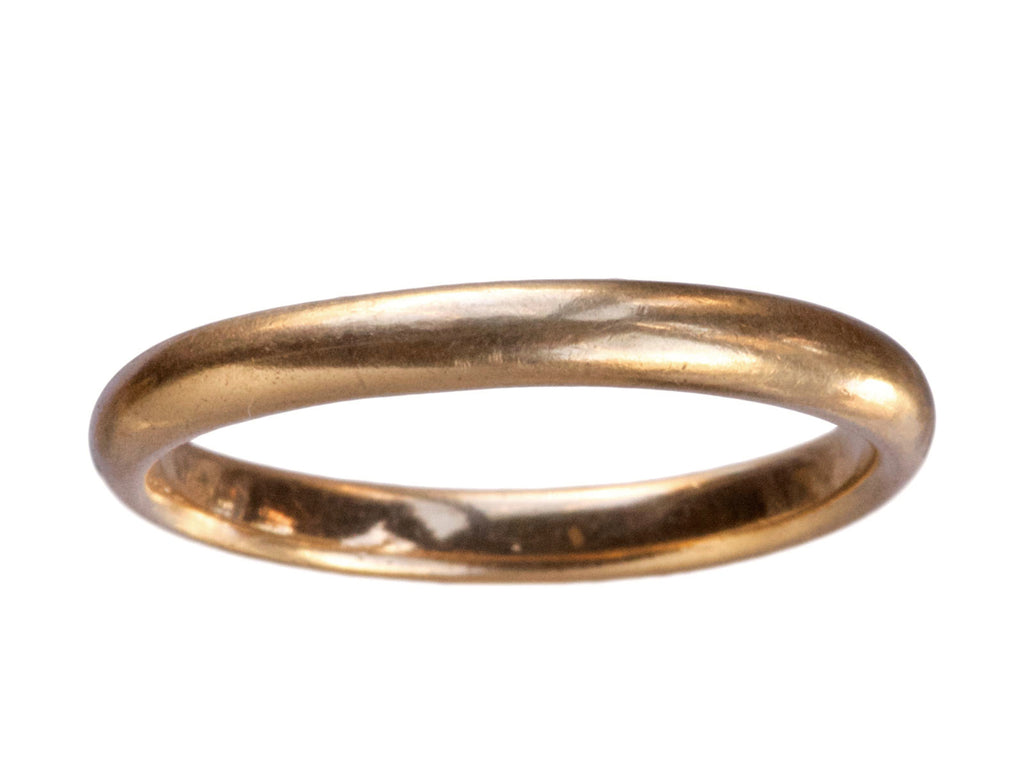 Early 1900s 14K Wedding Band