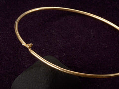 Vintage Gold Neck Bangle