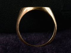 1940s Rose Gold Signet Ring